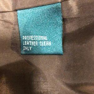 Ralph Lauren Jeans - NWOT RALPH LAUREN Lined Suede Leather Jeans Pants